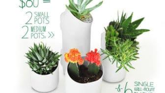 plantenbakjes voor de Urbio verticale stadstuin