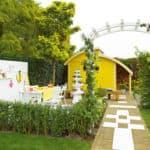 voorbeeld tuin voor gele tuintype