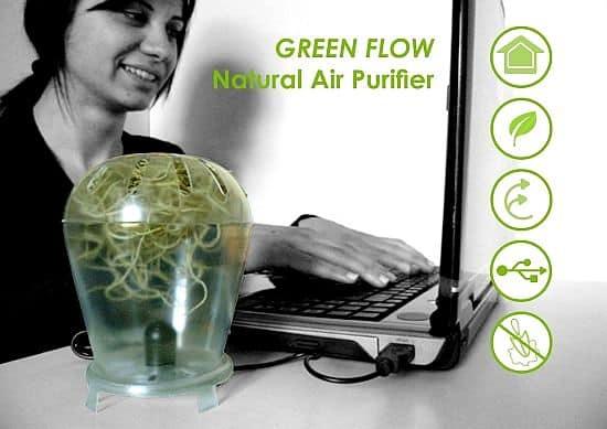 Green flow luchtzuivering