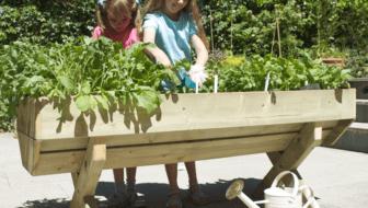 veg-table junior - tafeltuin en moestuin voor kinderen en scholen