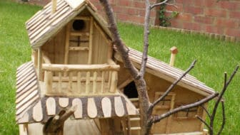 Cottage-vogelhuisje