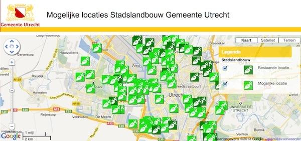 Mogelijke-locaties-stadslandbouw-gemeente-Utrecht