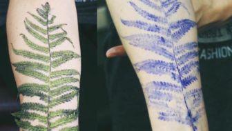 planten tatoeage